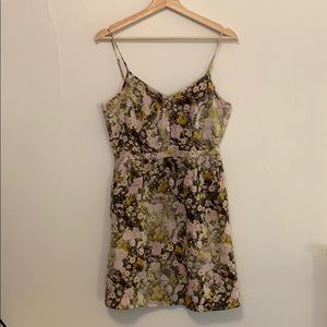Floral Madewell Dress, size 6, lightly worn.
